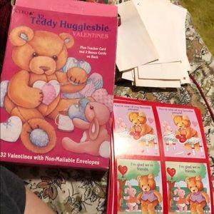 Teddy Hugglesbie Valentines Day cards